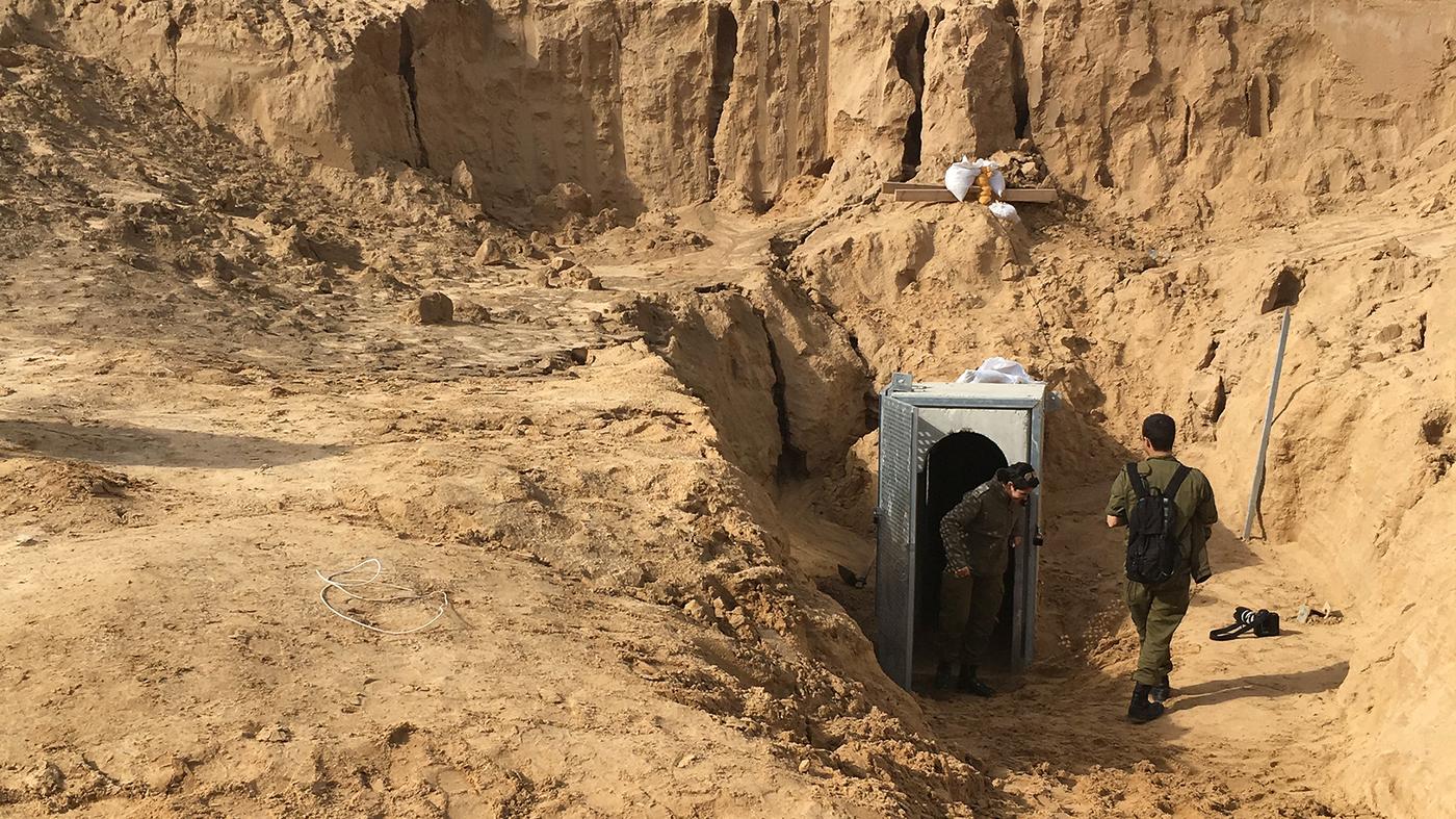 Israel Sds Up Underground Border Wall To Block Gaza ... on gaza tunnels egypt floods, gaza tunnels sad, gaza explosion, gaza terror tunnels, gaza border map, gaza tunnels under kindergartens, gaza strip,