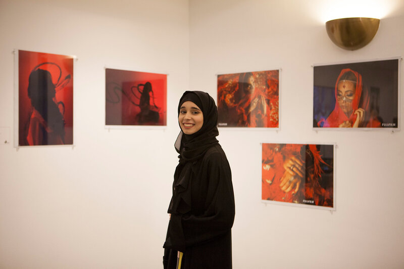 connected to the whole universe saudi women artists show their