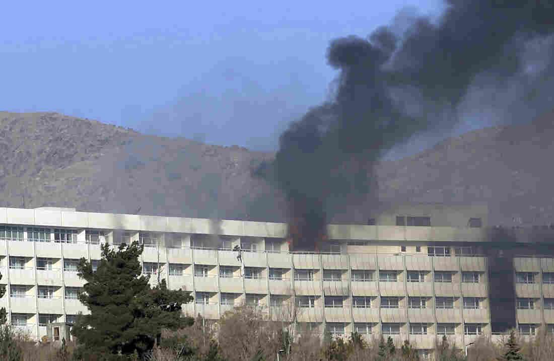 Death toll at 6 after attack on Afghan NGO