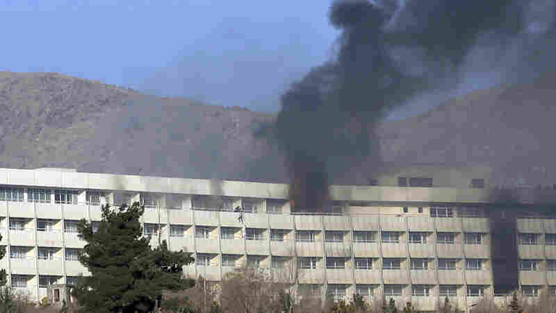 U.S. Citizens Killed In Weekend Attack On Kabul Hotel, State Department Says