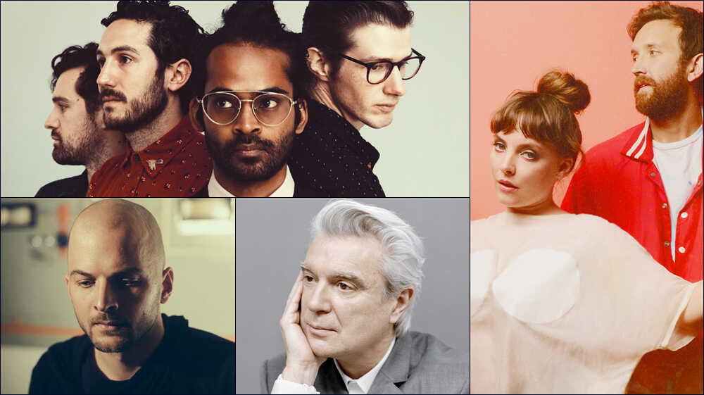 All Songs Considered: David Byrne, Sylvan Esso, More