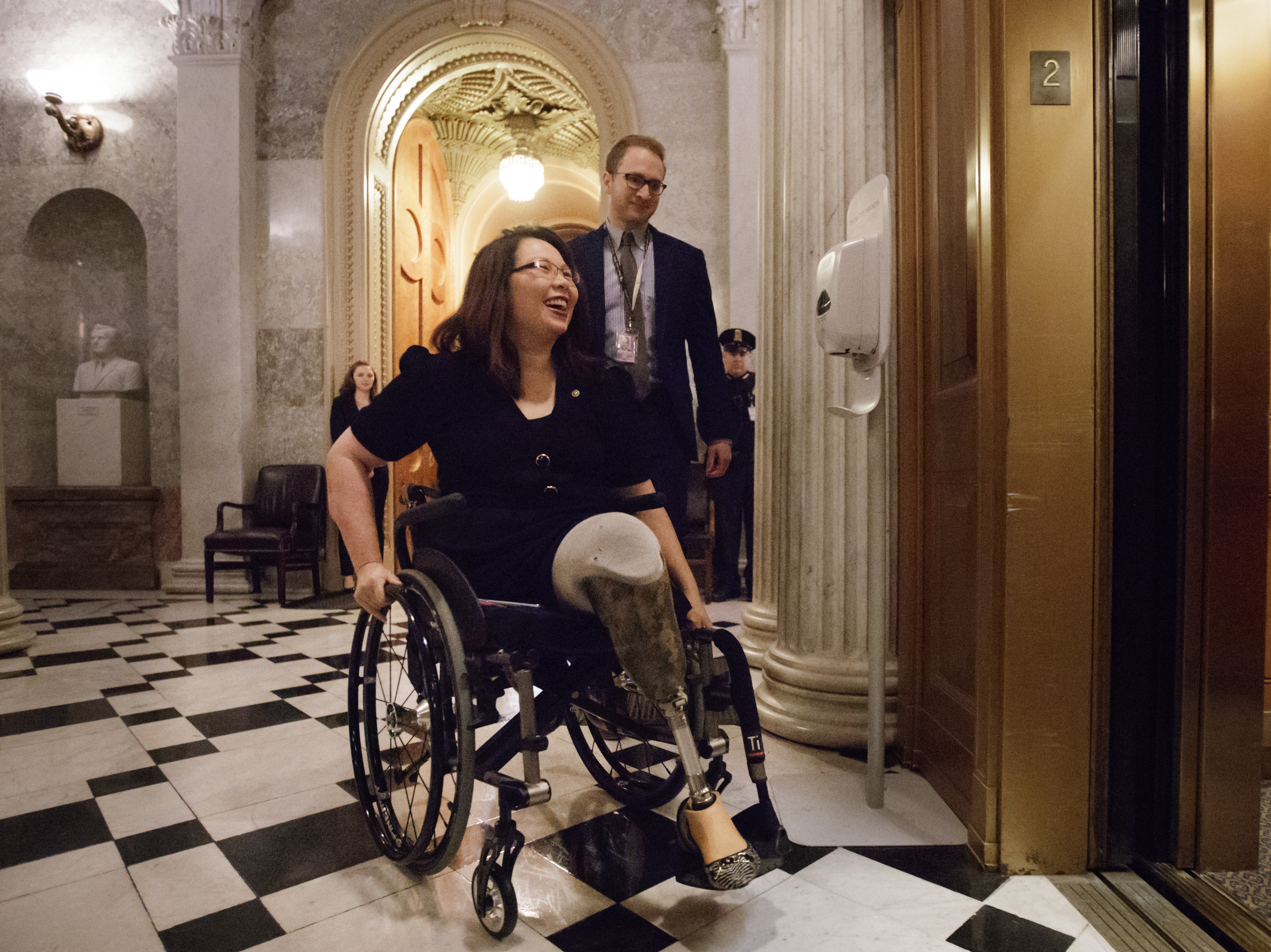 Sen. Tammy Duckworth's Pregnancy Set To Be Another First For The ...