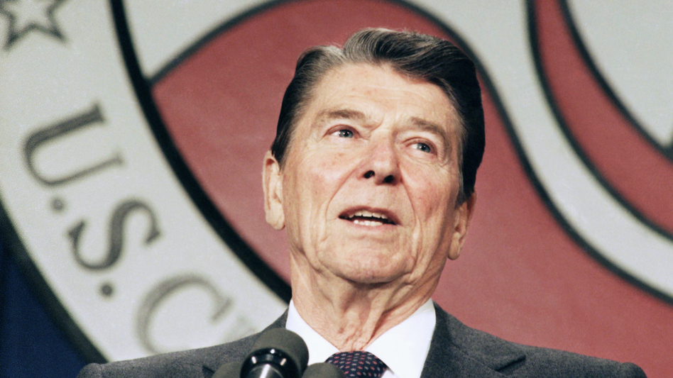 In 1986, President Ronald Reagan signed a major immigration law that offered amnesty to people in the country illegally who arrived prior to 1982. (Barry Thumma/AP)