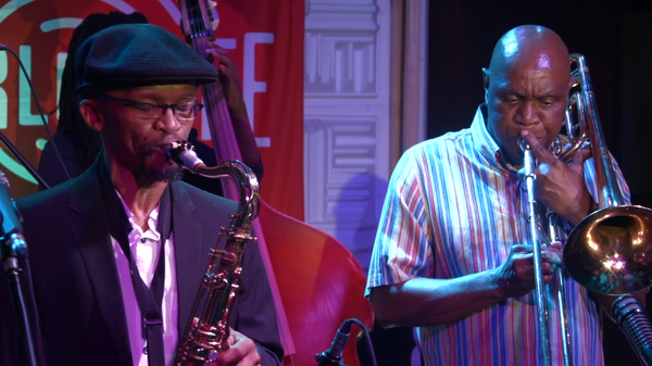 McCoy Mrubata performing live for World Cafe Sense Of Place South Africa.