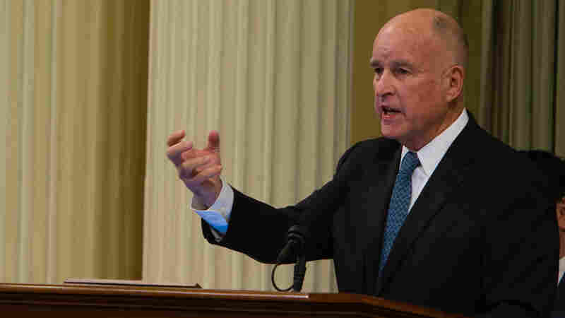 Jerry Brown's Last State Of The State Mixes Optimism And Warnings