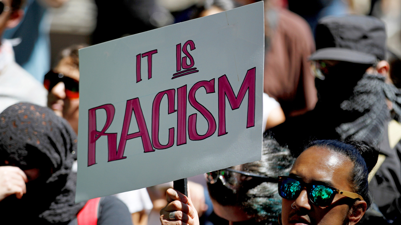 education npr we asked you answered when should we call something racist