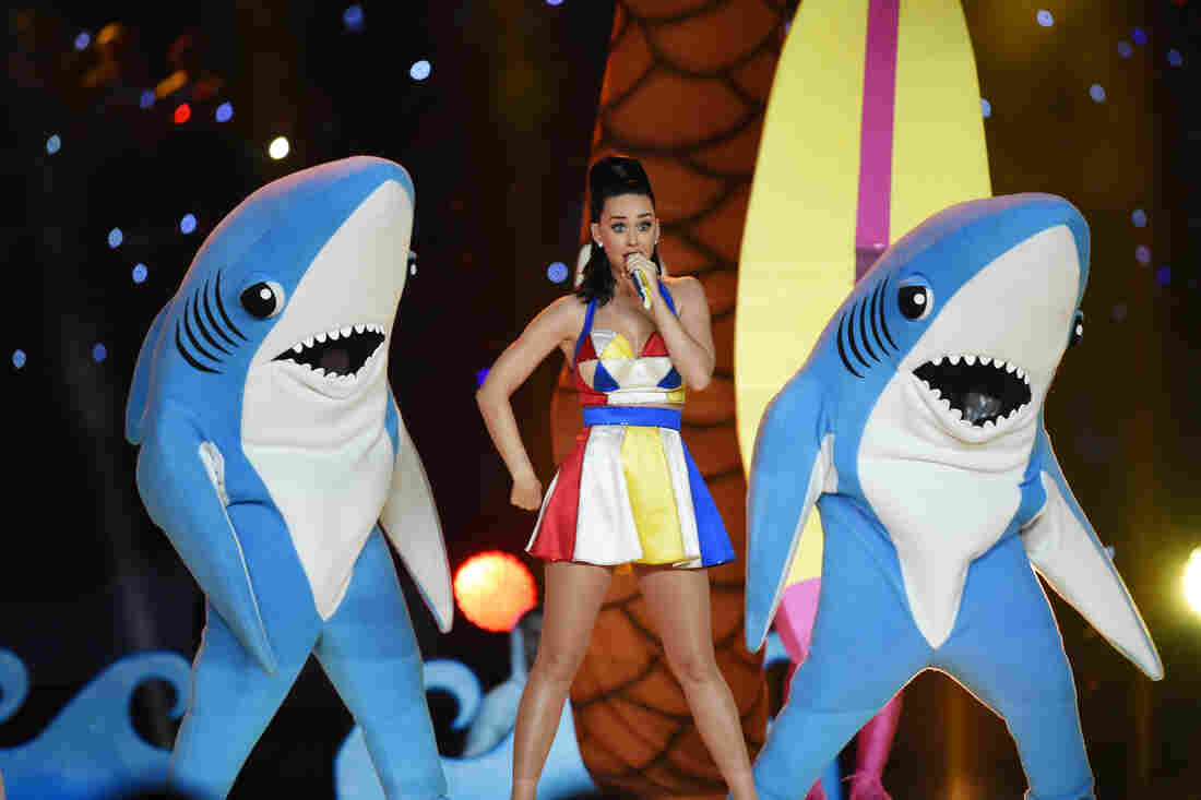 Advice from Super Bowl icon Left Shark: 'Don't take life so seriously'