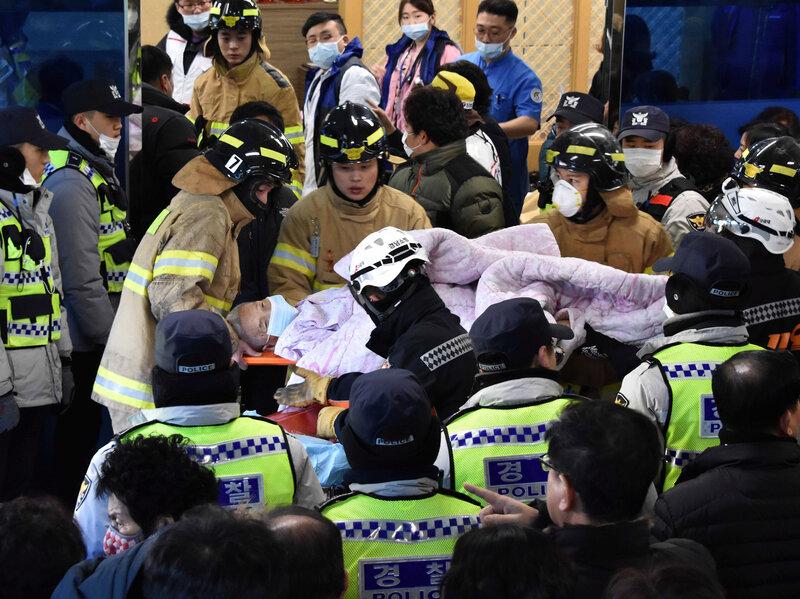 Fire Rips Through South Korean Hospital, Killing Dozens Of