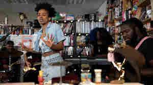 Jamila Woods: Tiny Desk Concert