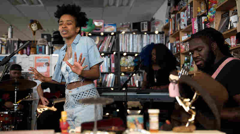 Jamila Woods: Tiny Desk Concert