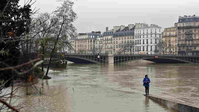 Déjà Vu Flooding In Paris As Officials Say Seine Will Crest Soon