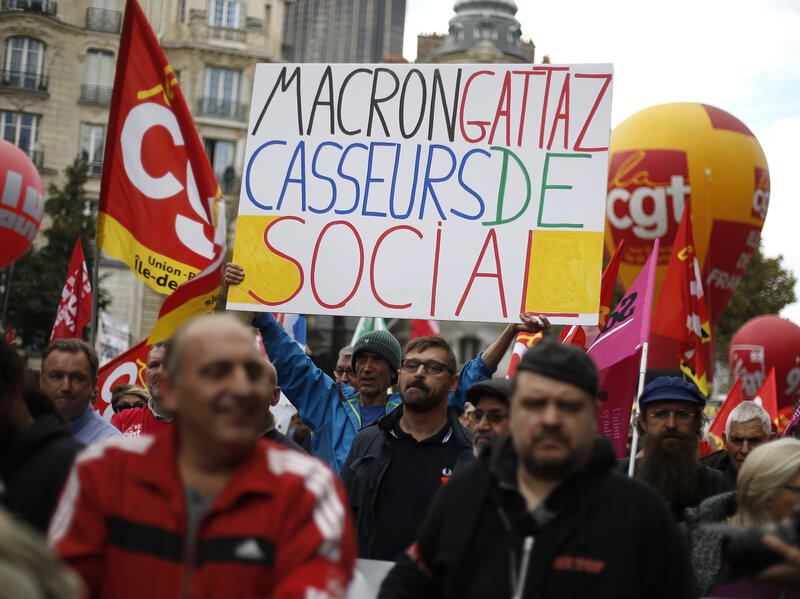 Why French Unions Aren't Taking To The Streets Like They