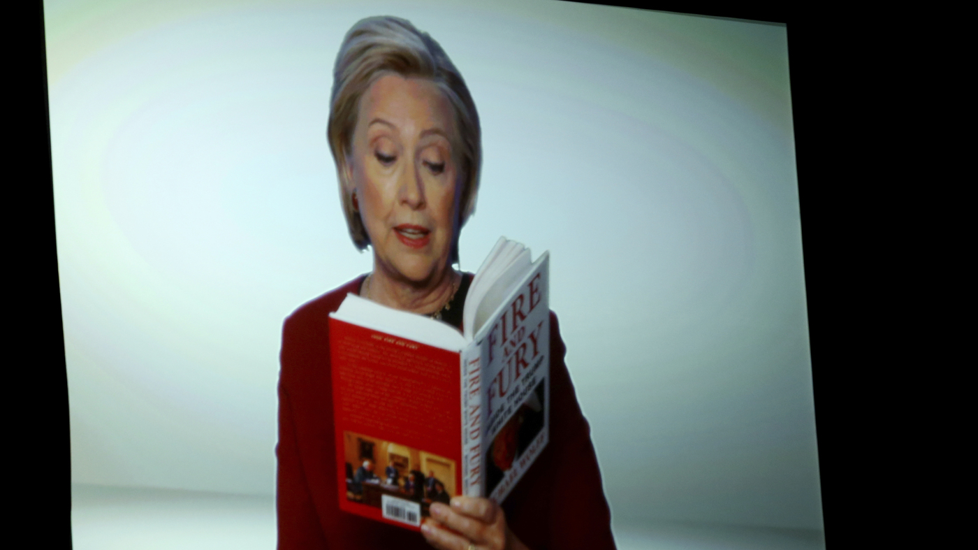 Trump Jr. Hits At Hillary Clinton's 'Fire And Fury' Grammy Cameo