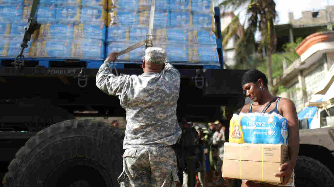FEMA reverses decision to end emergency food, water aid to Puerto Rico