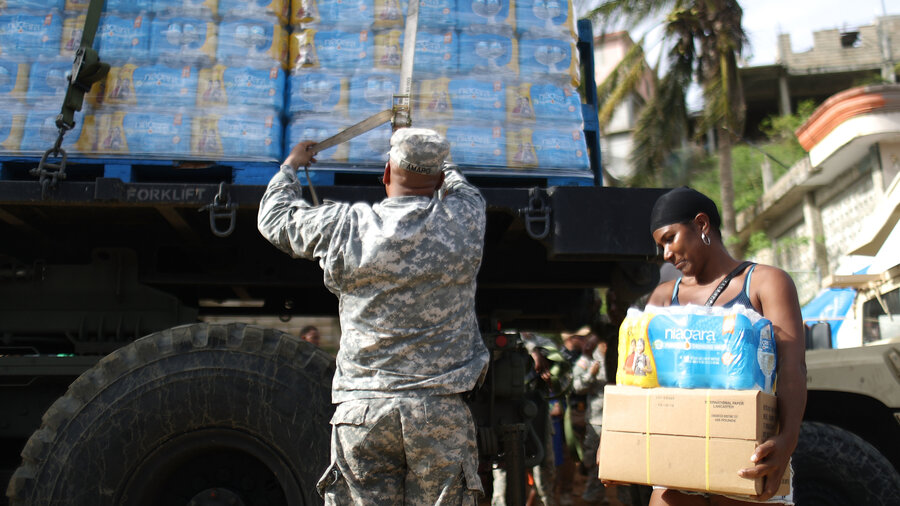 FEMA To End Food And Water Aid For Puerto Rico
