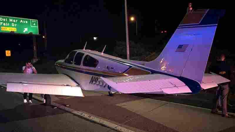 'Experienced Pilot' Makes Emergency Landing On Freeway