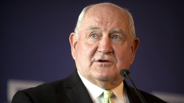 Agriculture Secretary Sonny Perdue Is 2018 s  Designated Survivor