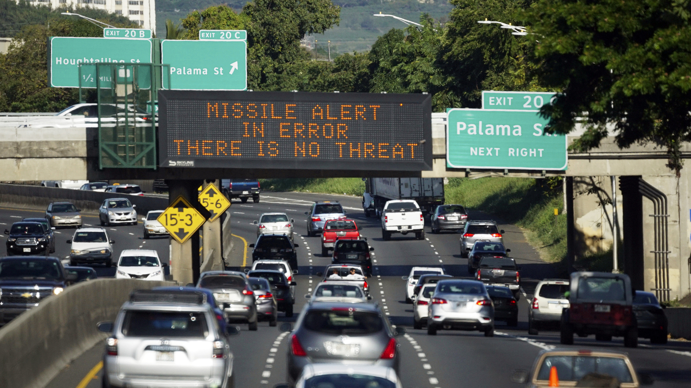 Worker Who Sent Hawaii False Alert Thought Missile Attack Was