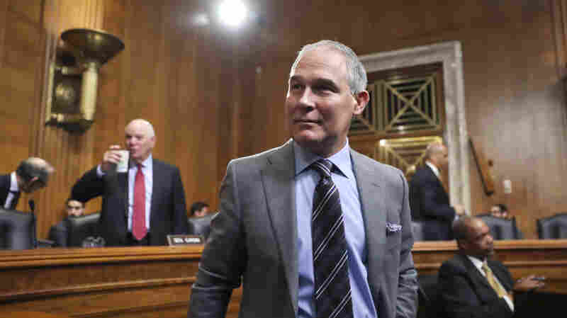 EPA Chief Worried Trump Would Be 'Abusive To The Constitution'