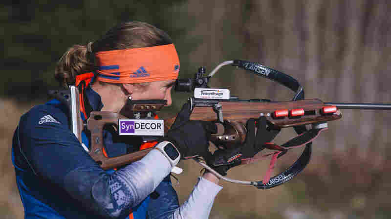 With Few Fans And Little Funding, U.S. Biathlon Team Hopes For First Olympic Medals