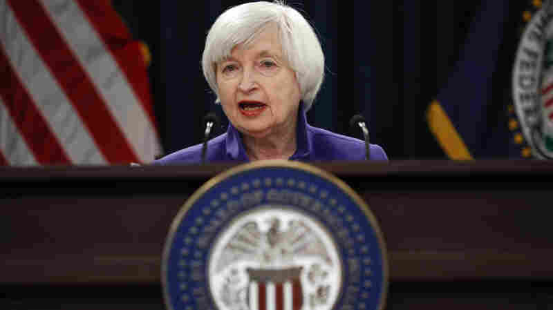 As Yellen Exits Fed, Policymakers Hold Interest Rates Steady