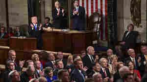 Trump's Big Speech: More Pep Rally Than Bipartisan Breakthrough