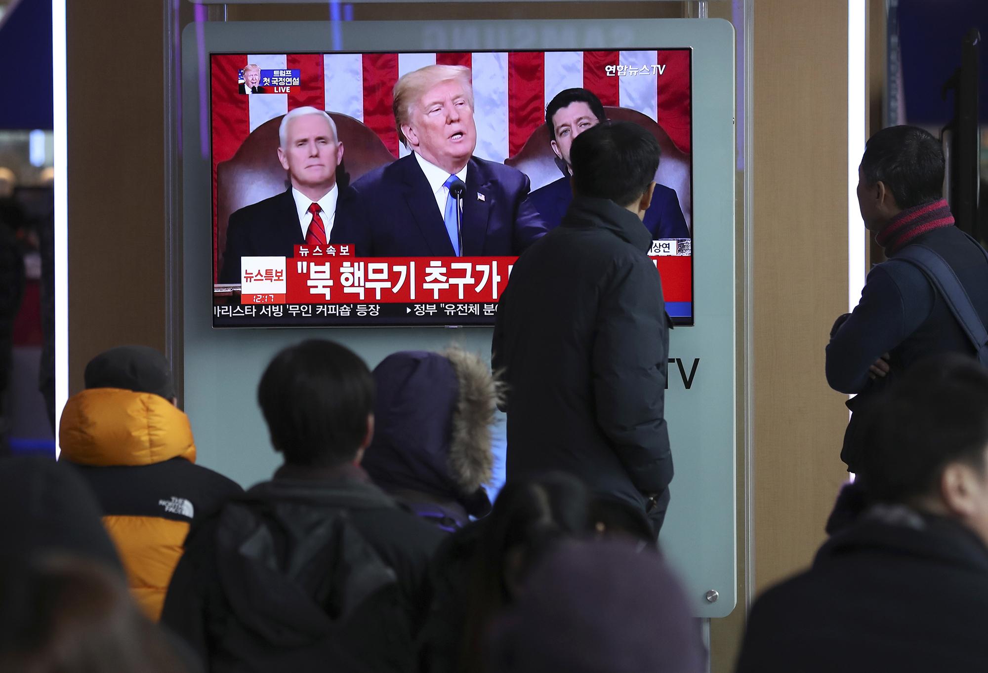Trump speaks to Japan's PM, S Korea's President about North Korea