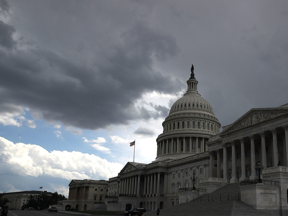 A political storm is brewing in Washington over the release of a much-discussed secret memo alleging abuses by the FBI and Justice Department. (Mark Wilson/Getty Images)