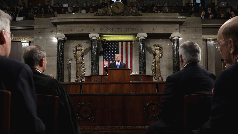 Reaction To Trump's State Of The Union Address Follows A Predictable