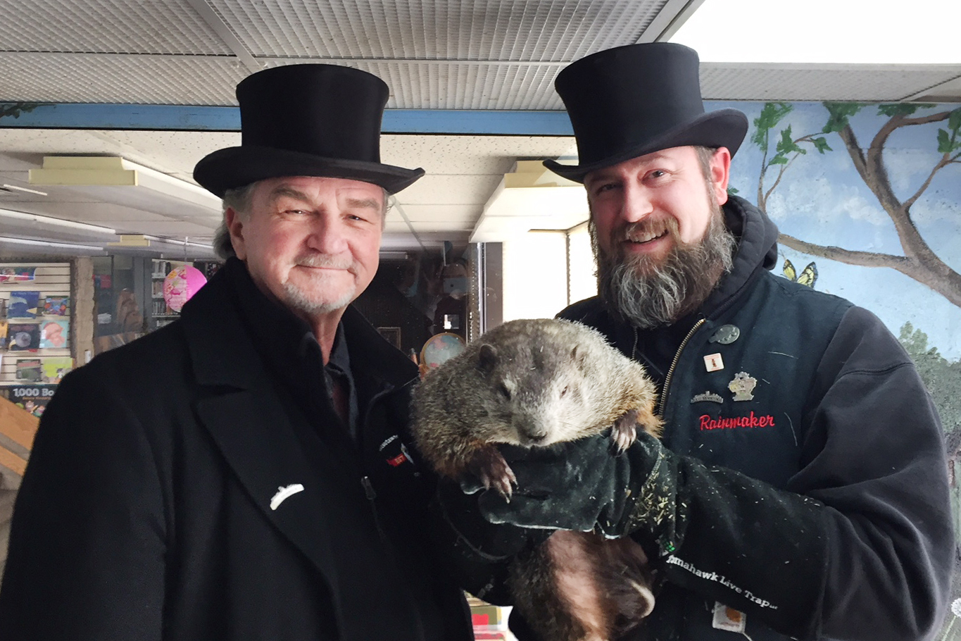 Punxsutawney Phil Predicts An Extended Winter