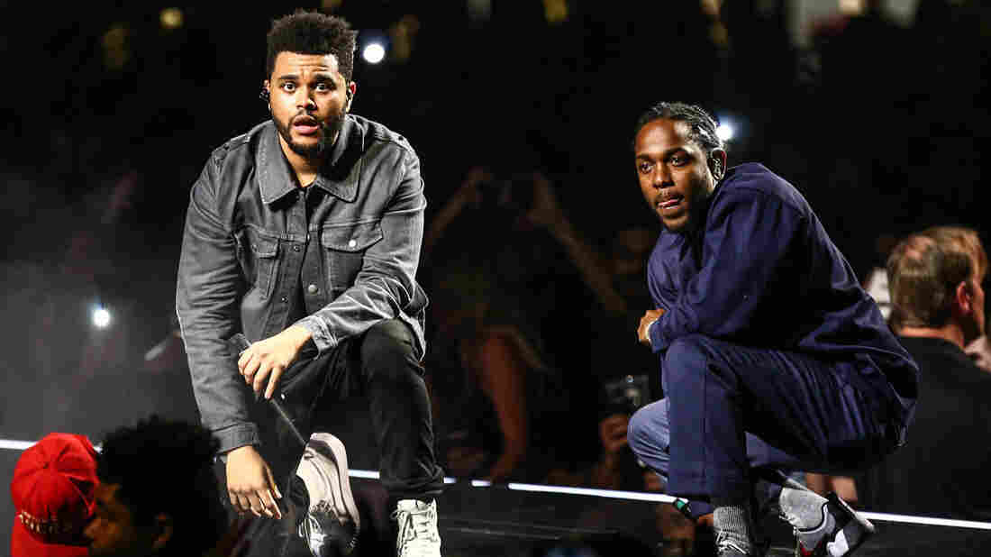 Black Panther's Kendrick Lamar and The Weeknd get synth-heavy soundtrack single