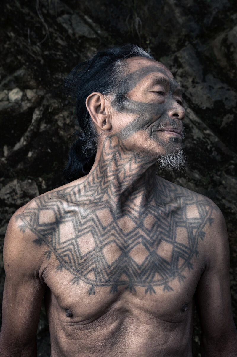 PHOTOS: Book Looks At The Tattoos Of A Tribe Of Former Headhunters ...