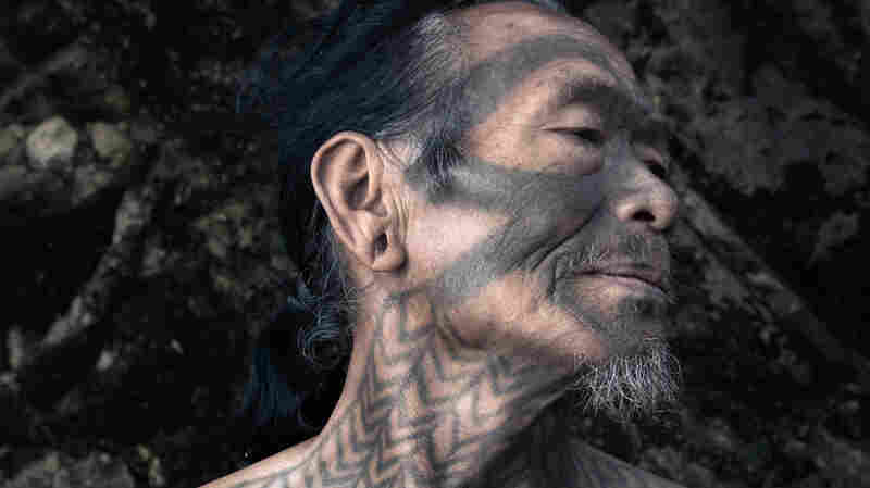 PHOTOS: The Vanishing Body Art Of A Tribe Of Onetime Headhunters