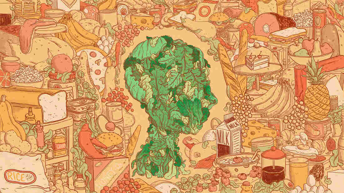 Scientists are keen to figure out how diet influences aging, including brain health. A five-year study of healthy seniors found those who ate a serving or two of daily greens had less cognitive decline.