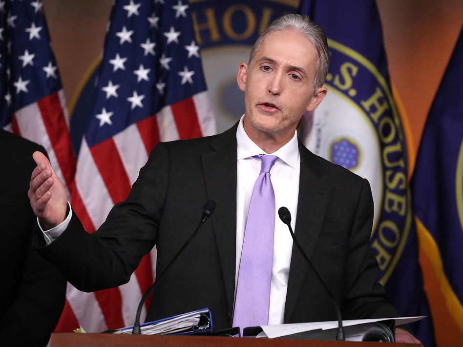 """Rep. Trey Gowdy, R-S.C., says the recent release of the GOP House Intelligence Committee memo will not have """"any impact on the Russia probe."""" (Mark Wilson/Getty Images)"""