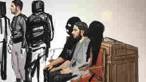 Sole Surviving Suspect In Paris Attacks Makes Uncooperative Court Appearance