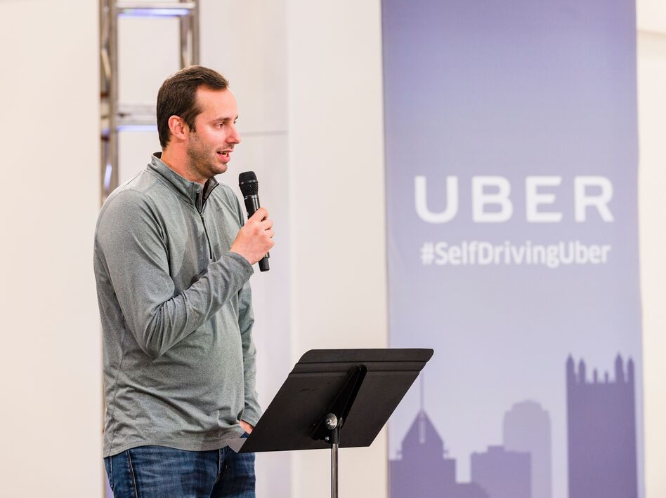 Waymo alleges that in early 2016, Anthony Levandowski downloaded 14,000 files related to autonomous vehicle design before leaving to found his own self-driving truck startup with several Google engineers. (AFP/AFP/Getty Images)