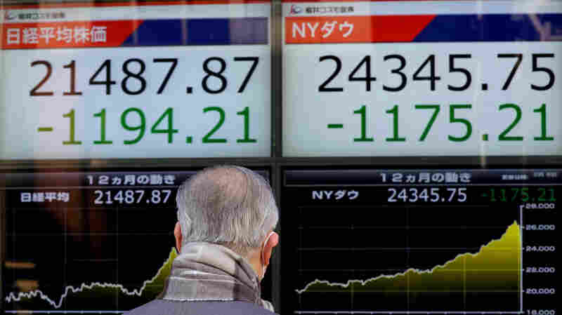 Asian, European Markets Follow Wall Street, With Stocks Suffering Sharp Losses