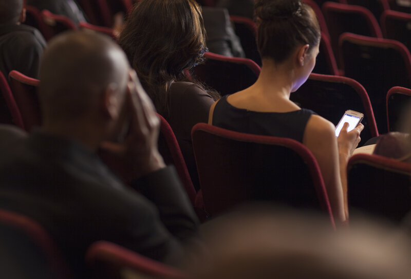 App Shows Closed Captions To Hearing-Impaired Theatergoers : Shots