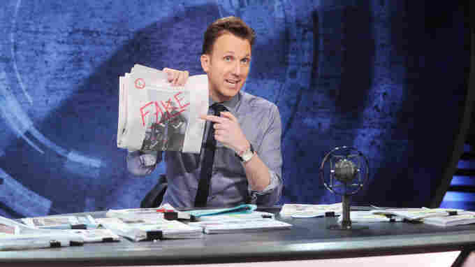 Comic Jordan Klepper Assumes An Anti-Fact Persona On 'The Opposition'