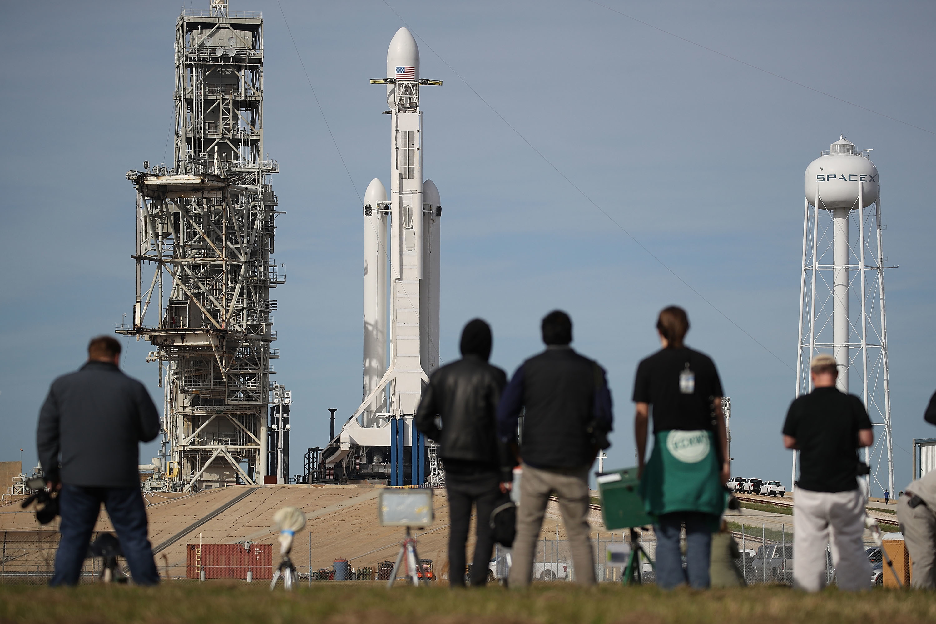 WATCH LIVE: SpaceX Launches Powerful Falcon Heavy Rocket ...