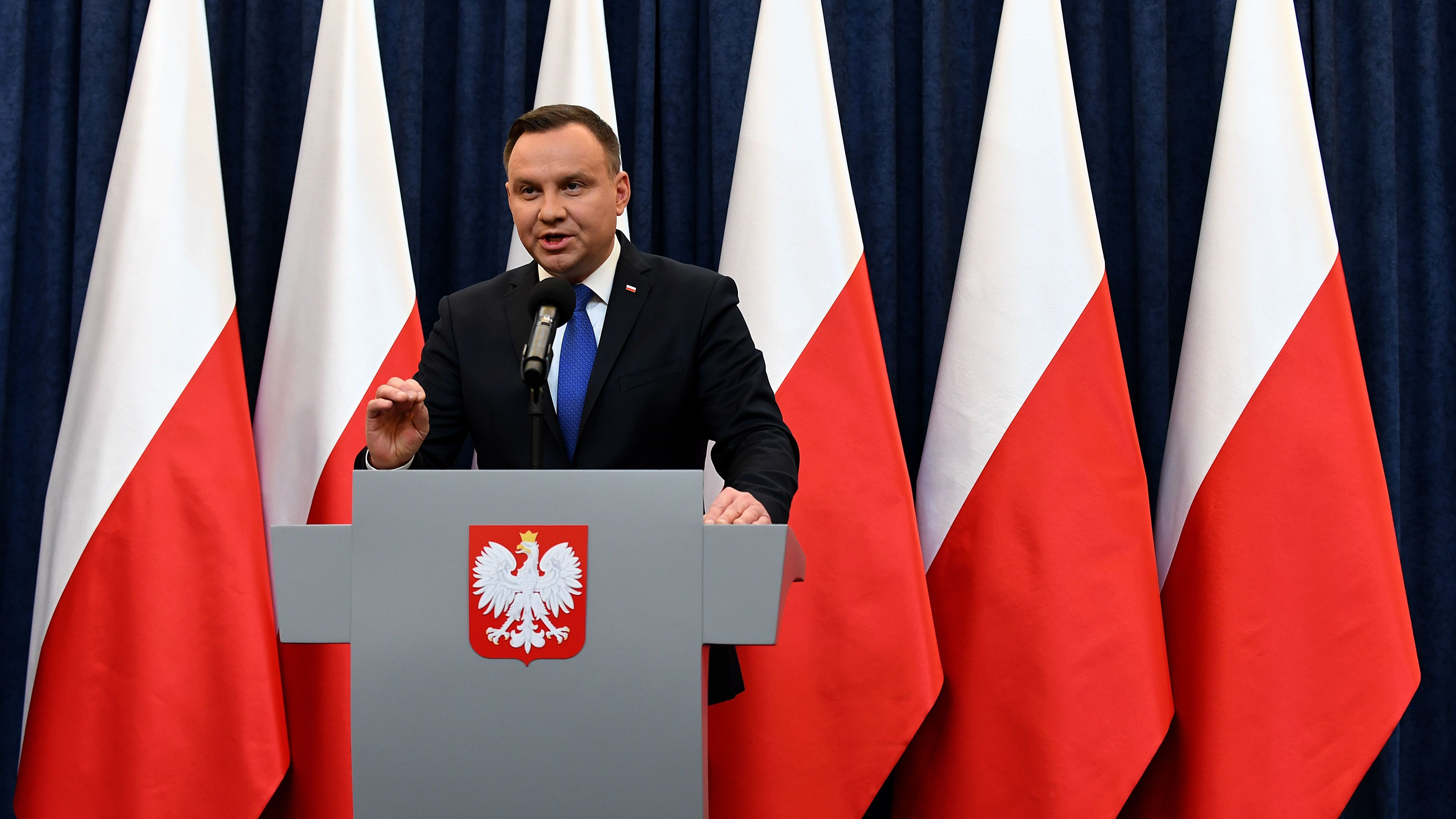 Poland's president signs controversial Holocaust bill