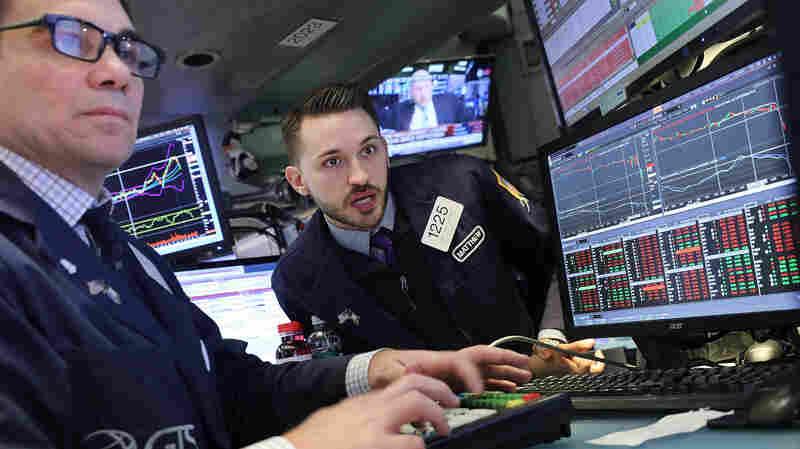 Trump Falls Silent On Stock Market Slump