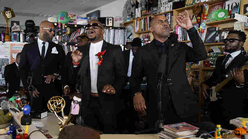 The Crossrhodes: Tiny Desk Concert