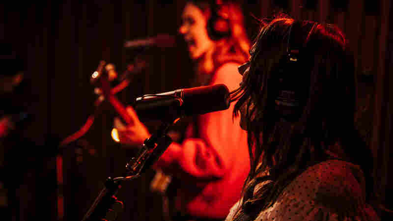 Watch First Aid Kit Perform 'Fireworks' Live In The Studio
