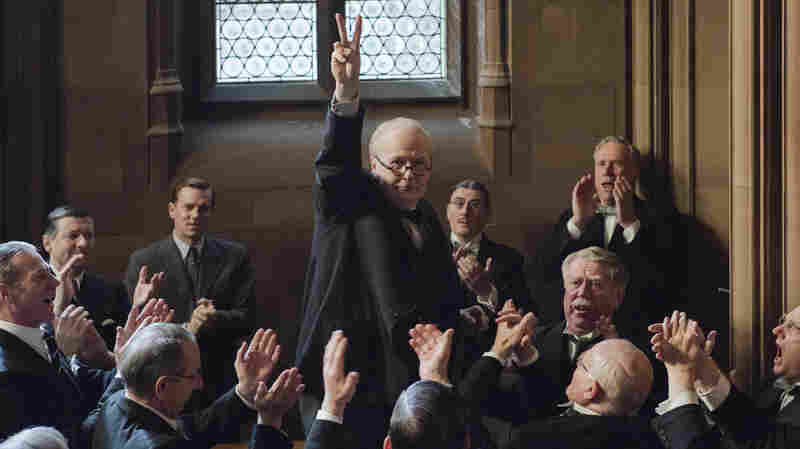 Pop Culture Happy Hour: Gary Oldman Jowls It Up As Winston Churchill