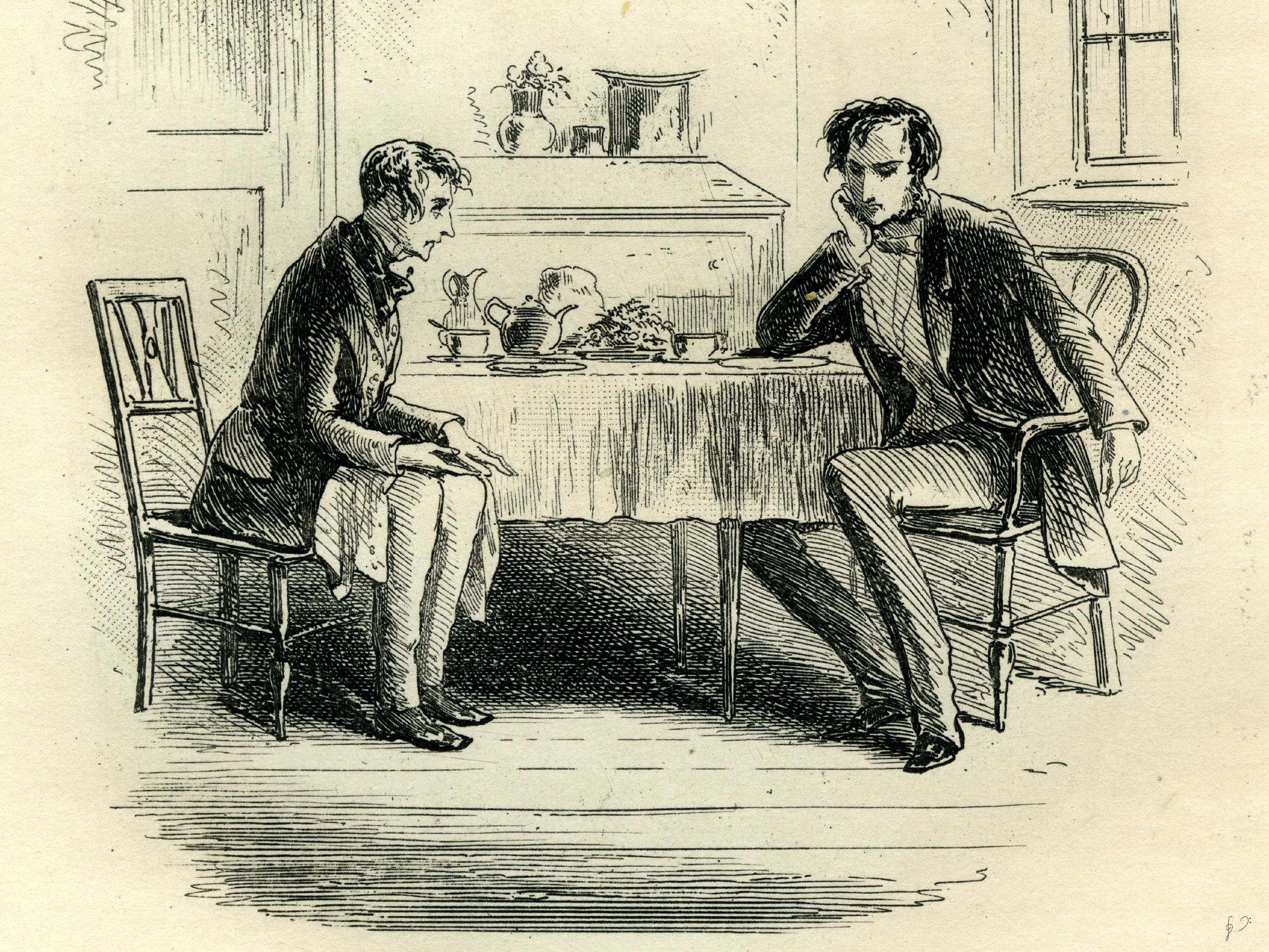 Coffee Or Tea: In Dickens' World, It Might Be A Choice Between Good And Evil