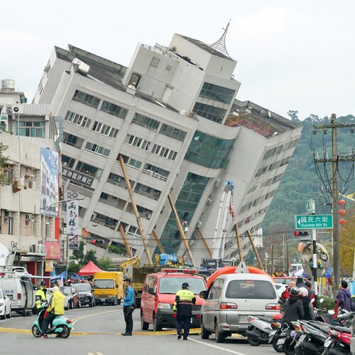 6.4 Magnitude Quake Hits Taiwan, At Least 4 Dead