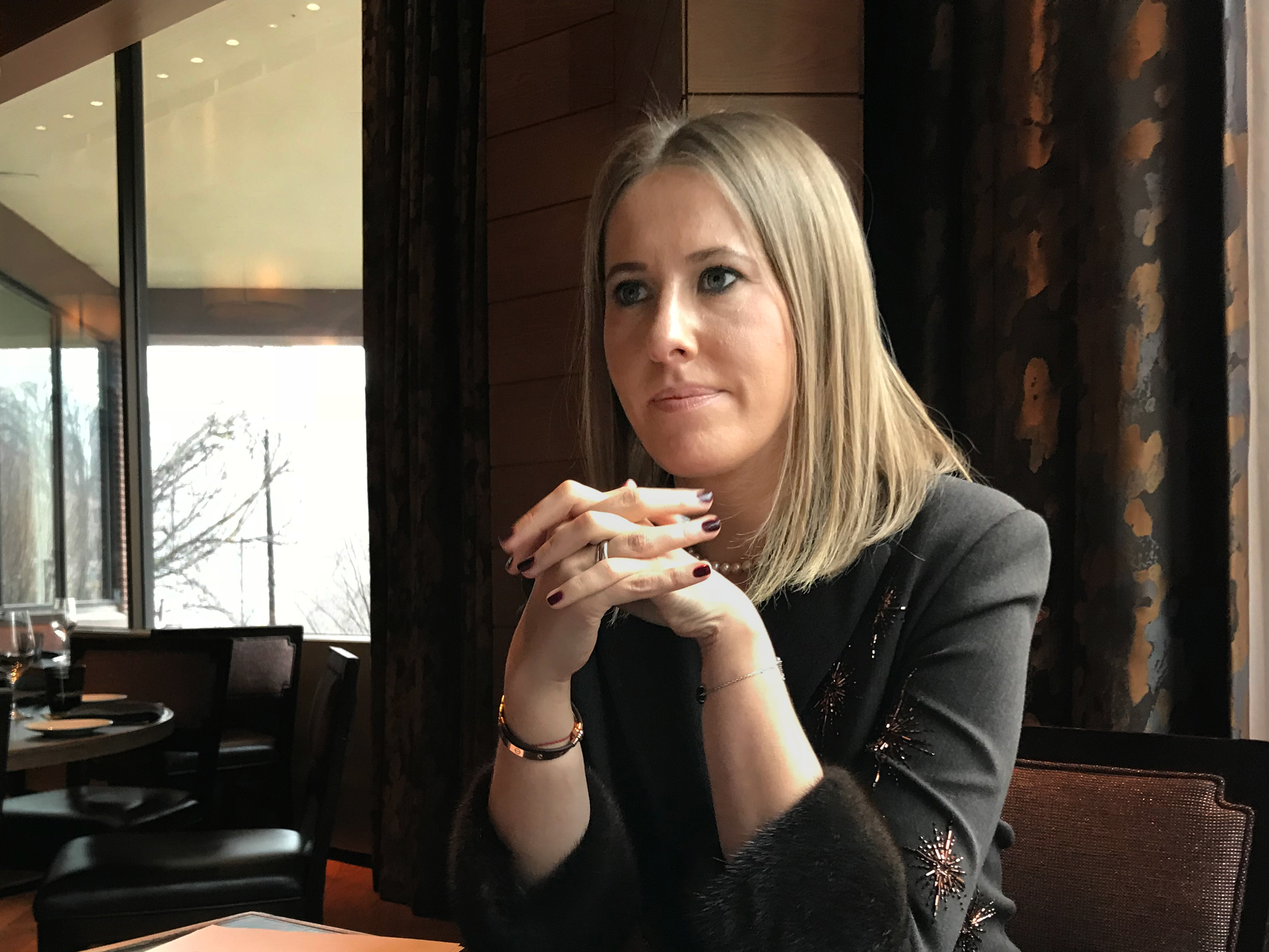 Ksenia Sobchak is ready to reduce the number of gays in the country 06/05/2011