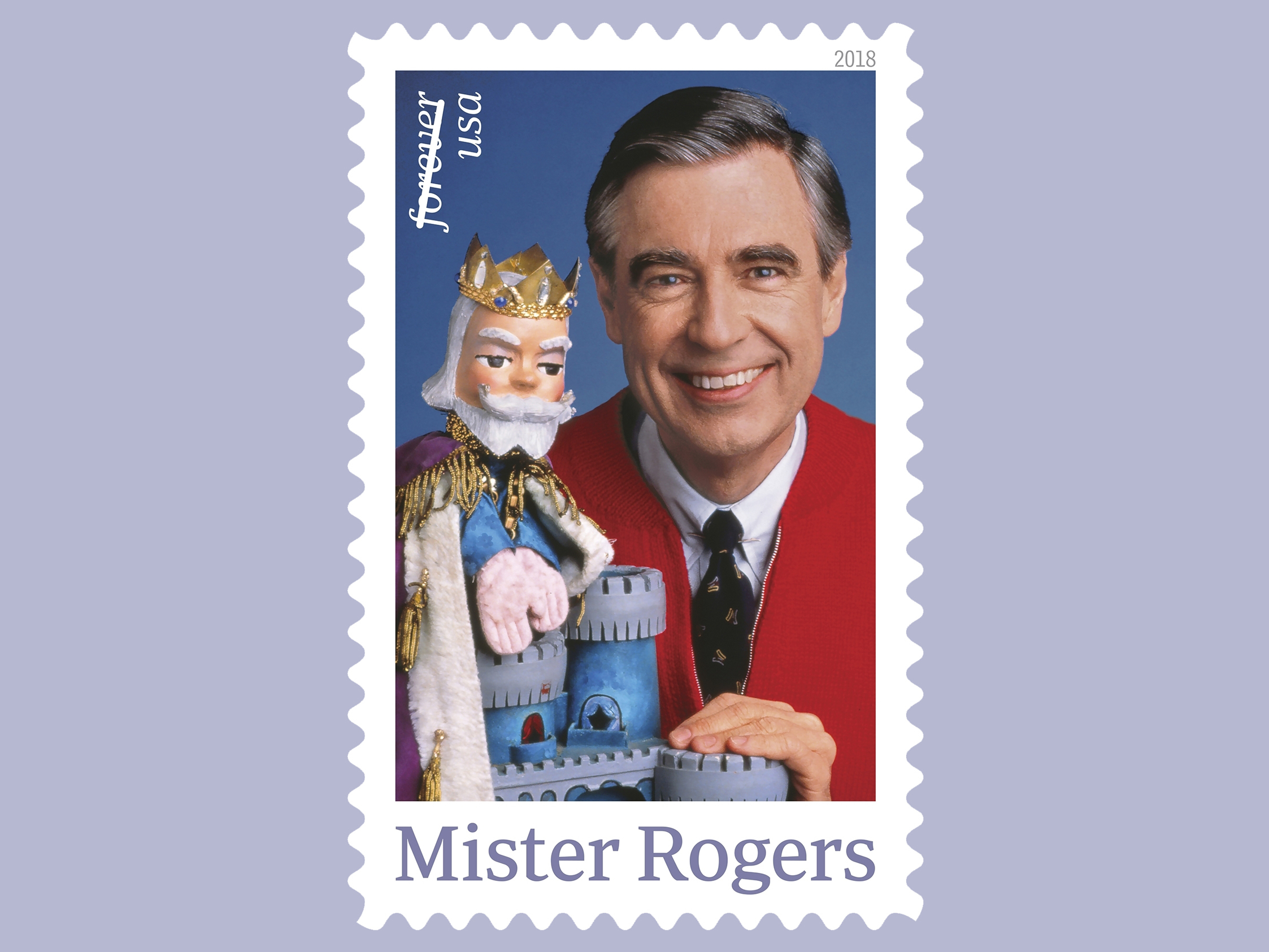 Mister Rogers Is Coming Back To Your Neighborhood On A Stamp Npr